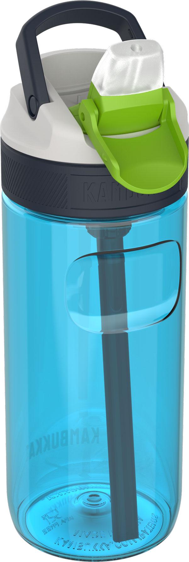"""בקבוק שתיה ילדים 500 מ""""ל כחול Kambukka Lagoon Topaz Blue קמבוקה"""