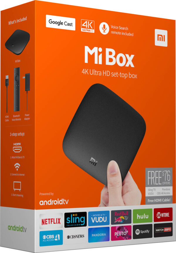 סטרימר אנדרואיד Xiaomi Mi Box 4K