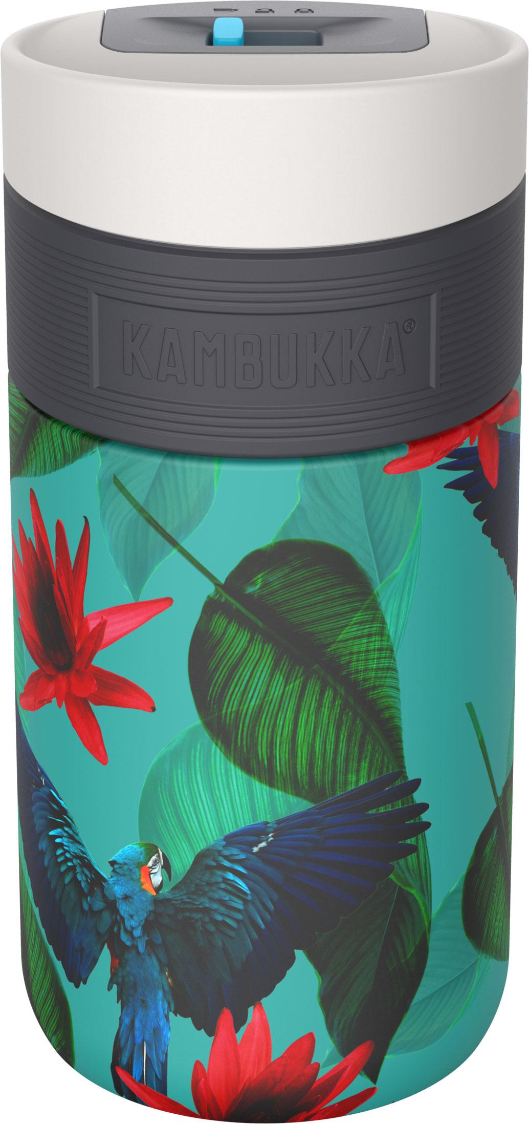 בקבוק שתיה תרמי תוכים 300 מ״ל Kambukka Etna