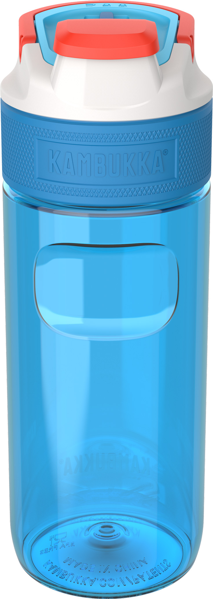 """בקבוק שתיה כחול 500 מ""""ל Kambukka Caribbean Elton קמבוקה"""