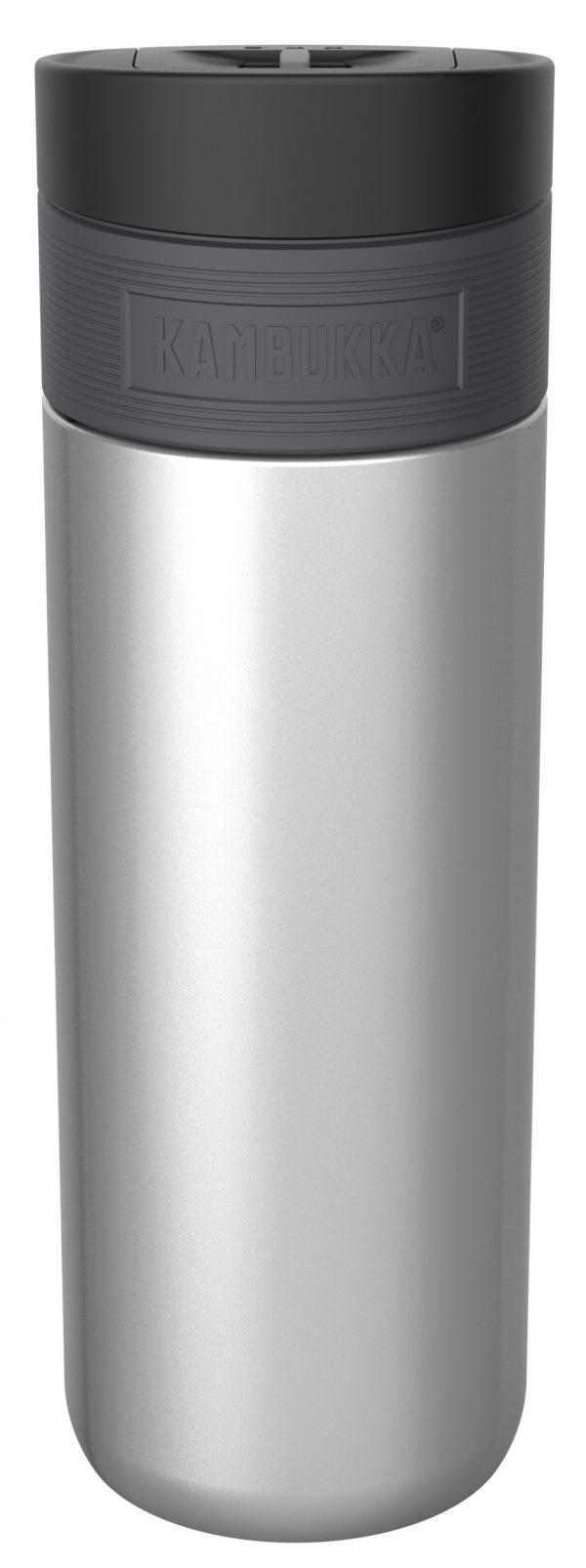"""בקבוק שתיה תרמי כסוף 500 מ""""ל Silver קמבוקה Kambukka Etna"""