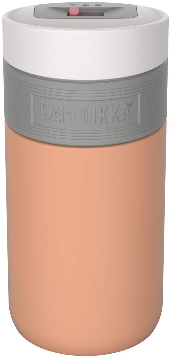 """בקבוק שתיה תרמי 300 מ""""ל קרמל Kambukka Etna Cantaloupe"""