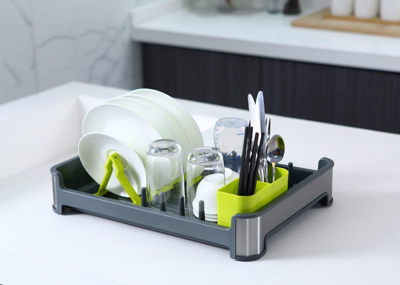 מייבש כלים איכותי למטבח אפור Eko דגם Regal