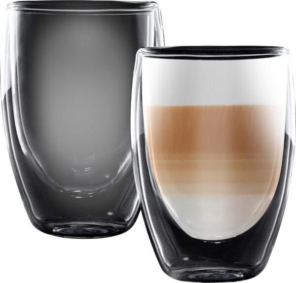 """סט 2 כוסות דאבל 350 מ""""ל Food Appeal Latte Columbia Limited Edition פוד אפיל"""