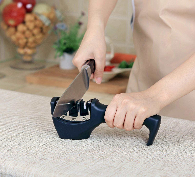 משחיז סכינים שולחני תלת-שלבי Cult Food Appeal פוד אפיל