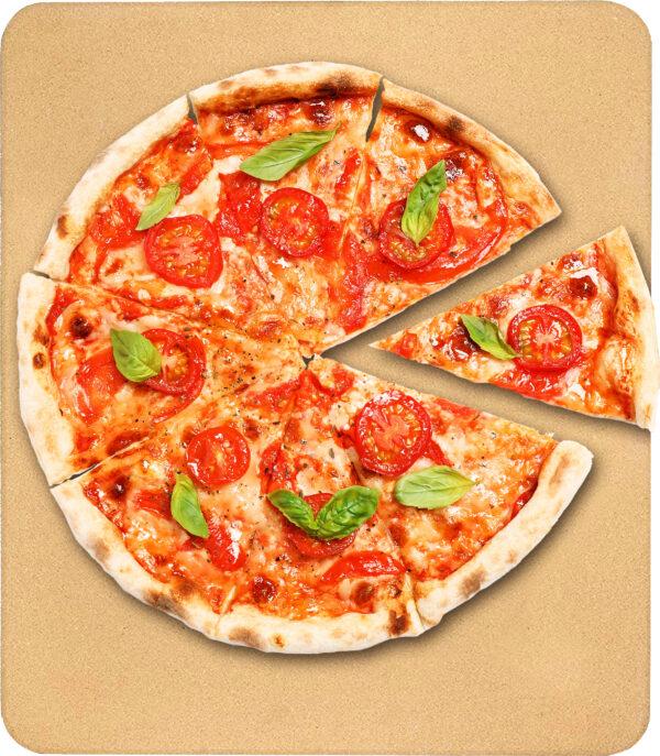 אבן שמוט מלבן 38 × 30 ס״ם Food Appeal Pizza Cooking Stone פוד אפיל
