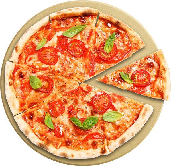 אבן שמוט עגולה 33 ס״ם Food Appeal Pizza Cooking Stone פוד אפיל