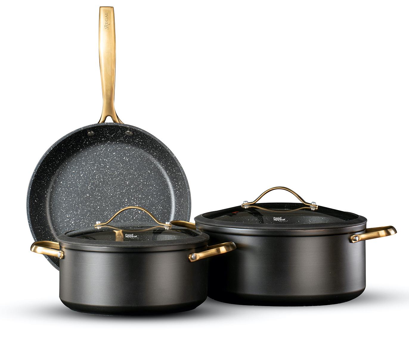 סט 5 כלי בישול Food Appeal Regal פוד אפיל