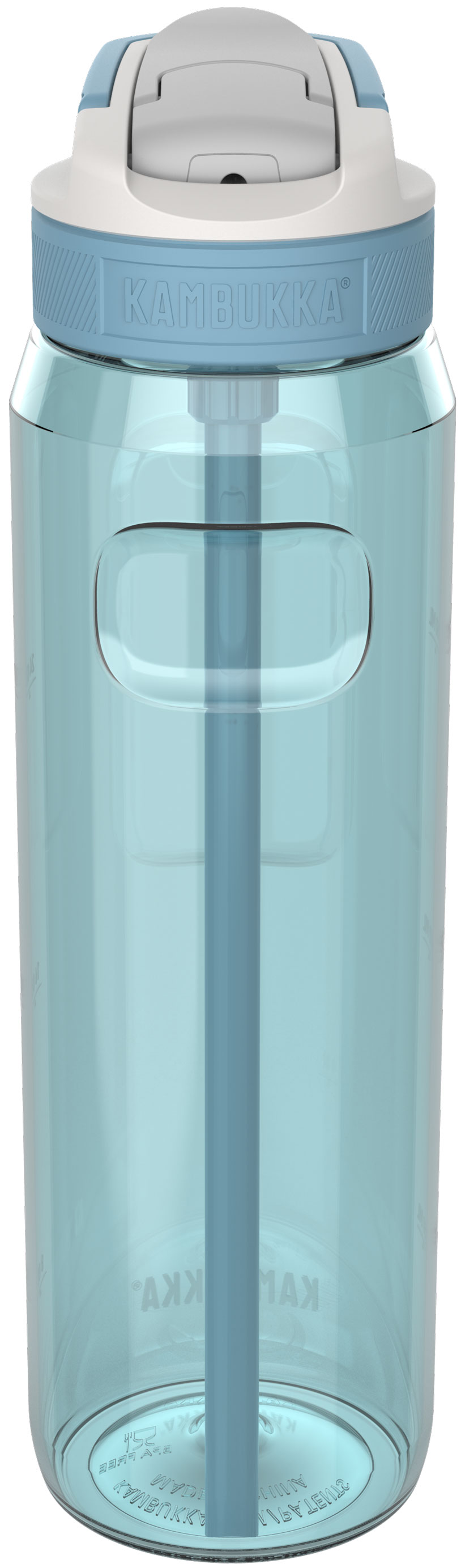 בקבוק שתיה תכלת 1 ליטר Kambukka Lagoon Arctic Blue קמבוקה