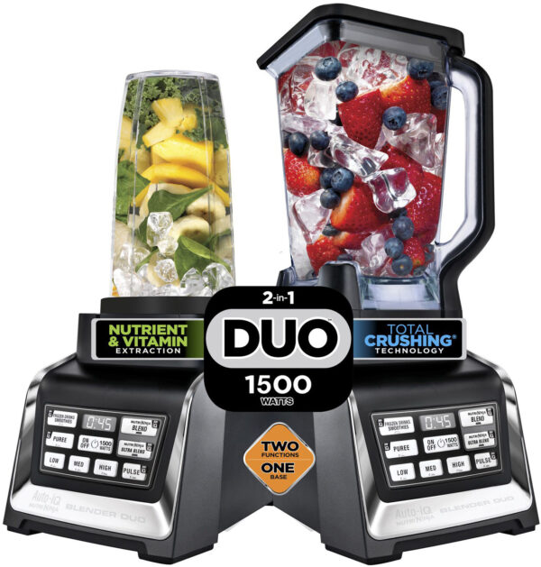 נוטרי נינג'ה Duo Auto-IQ 2-IN-1 Ninja דגם BL642