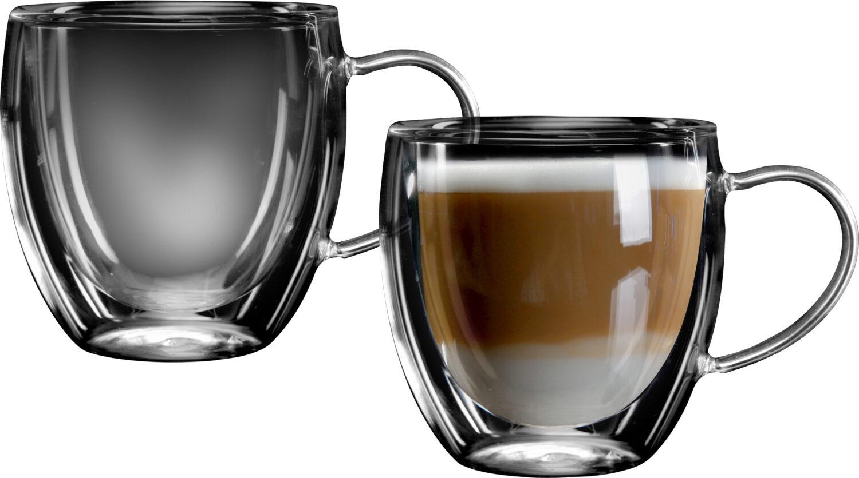 """סט 2 כוסות דאבל 240 מ""""ל Food Appeal Costa פוד אפיל"""