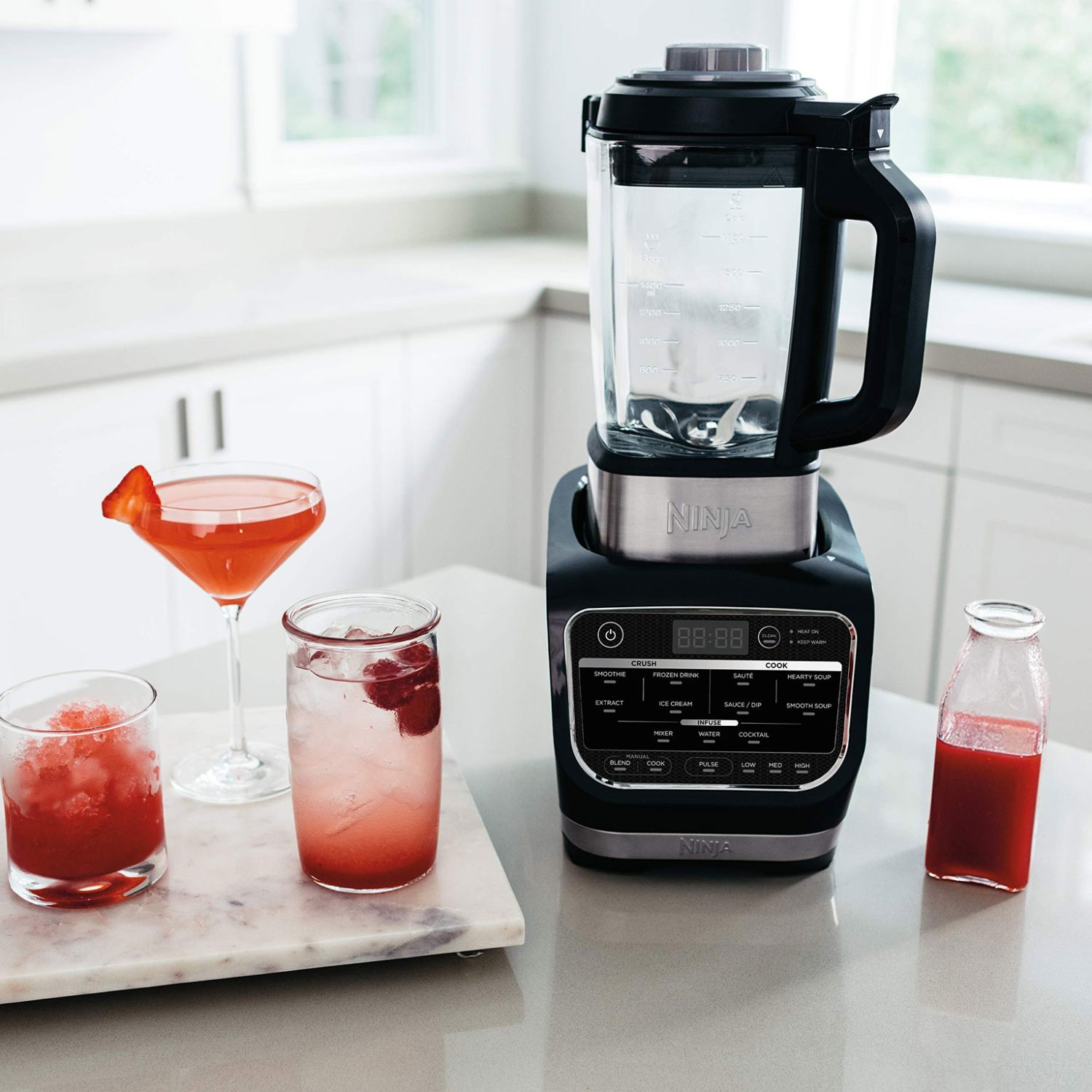 נוטרי נינג'ה בלנדר חכם Cold & Hot Blender דגם HB153