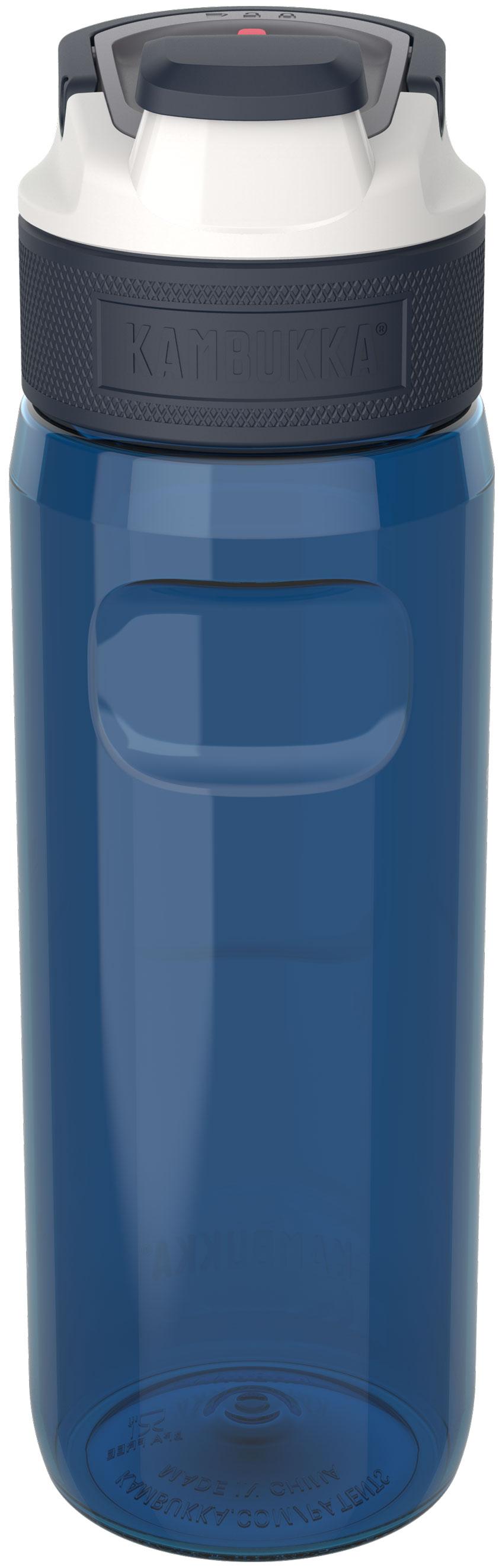 """בקבוק שתיה כחול 750 מ""""ל Kambukka Elton Midnight Blue קמבוקה"""
